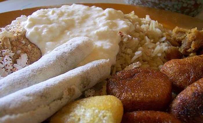 Bhogali Jalpan - A traditional Assamese Breakfast Dish