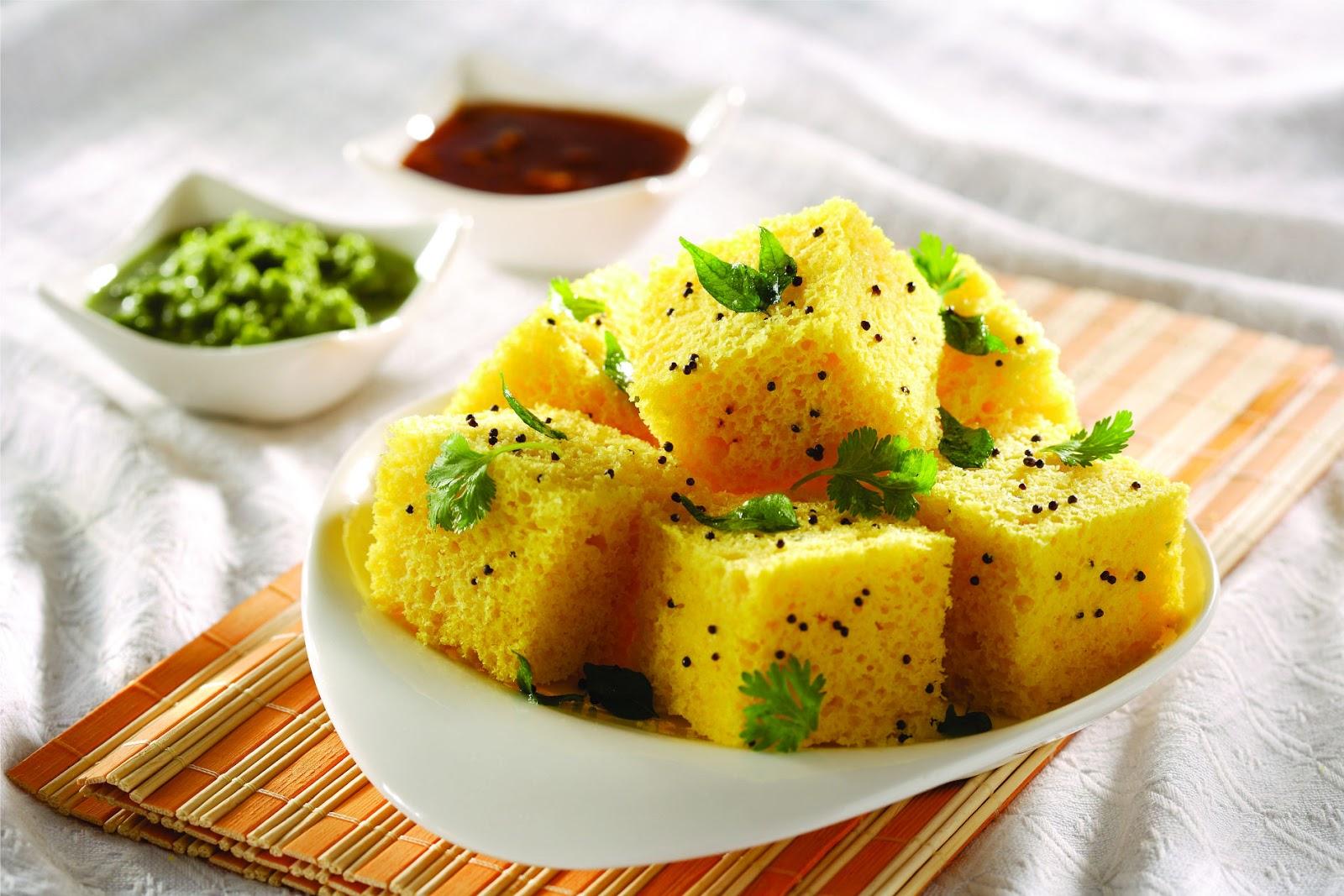 Khaman Dhokla - A Regional Breakfast Gujarati Dish