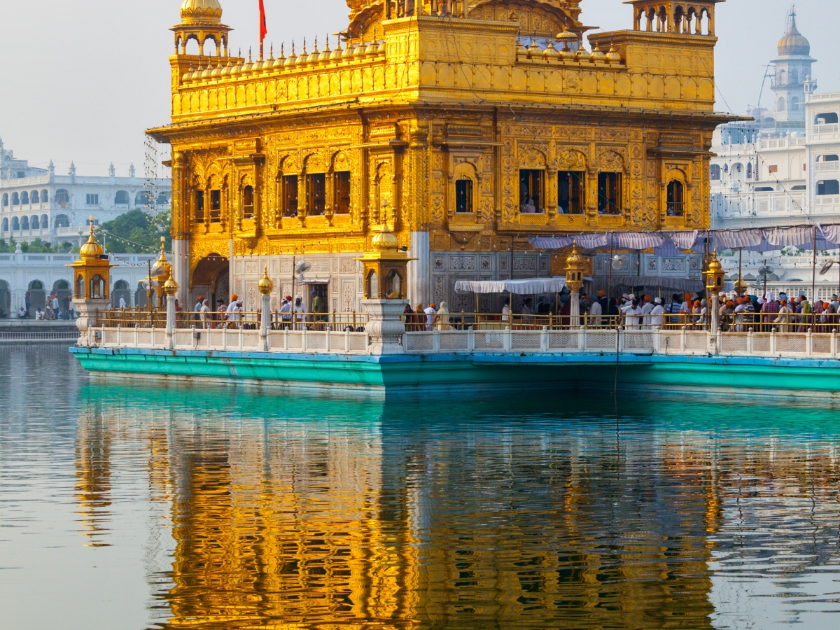 Golden Temple, Amritsar Cuisine Canvas