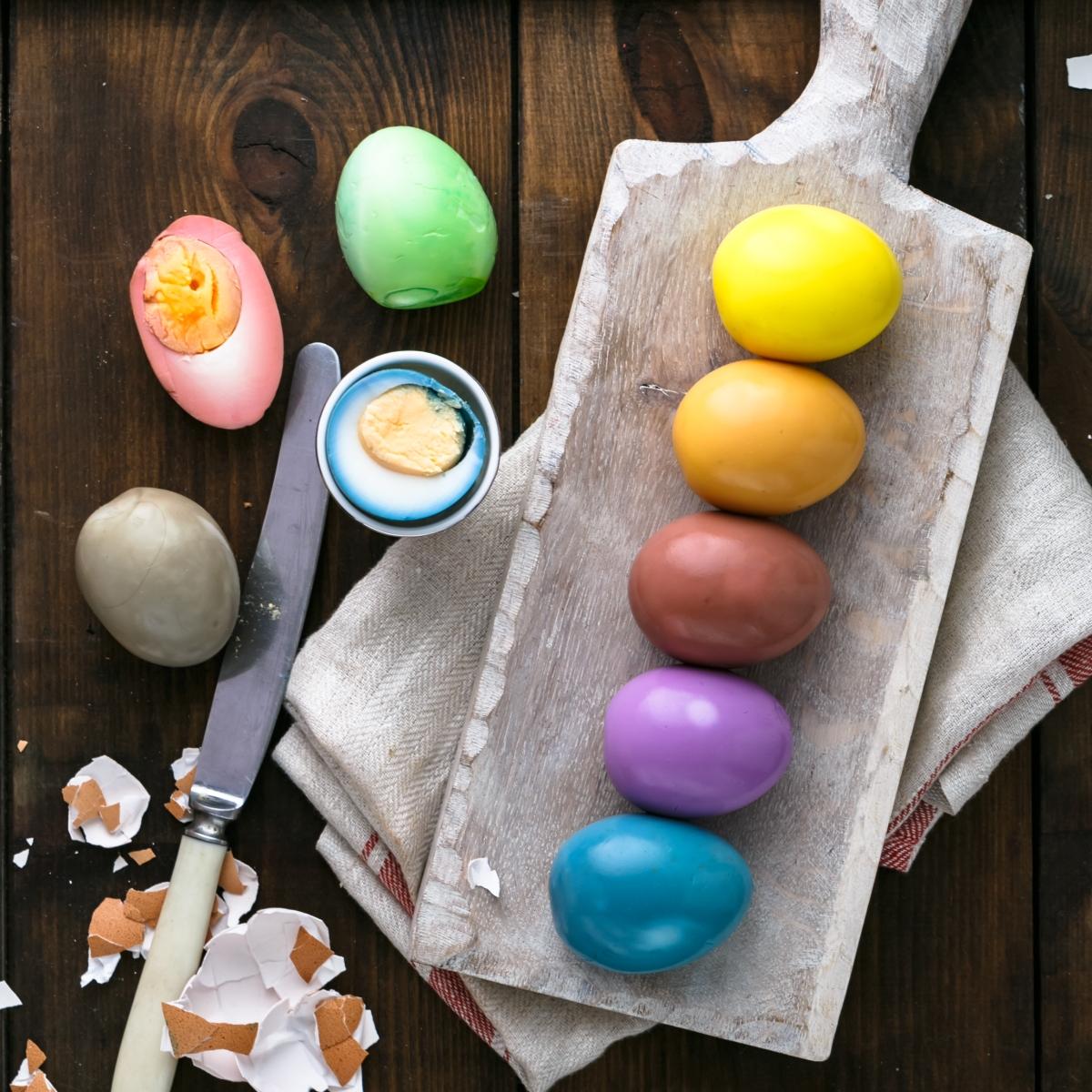 Easter Eggs 2020 Cuisine Canvas